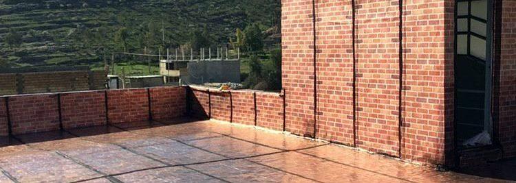ایزوگام طرح دار دیوار کف
